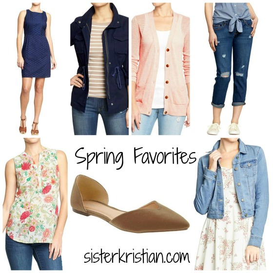 Old Navy Spring Collage with Website