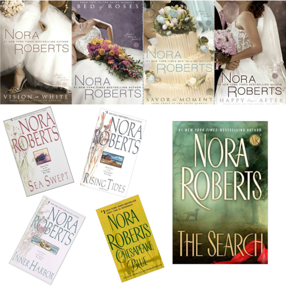 Nora Roberts Recommendations