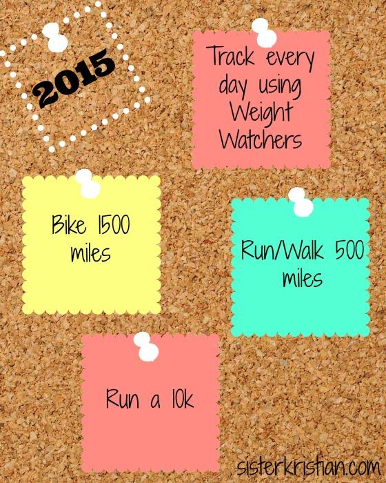 2015 Health Goals